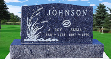 Empire Memorials Inc Melrose Mn Custom Granite